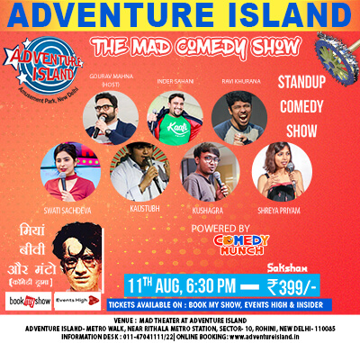Event Mad Comedy